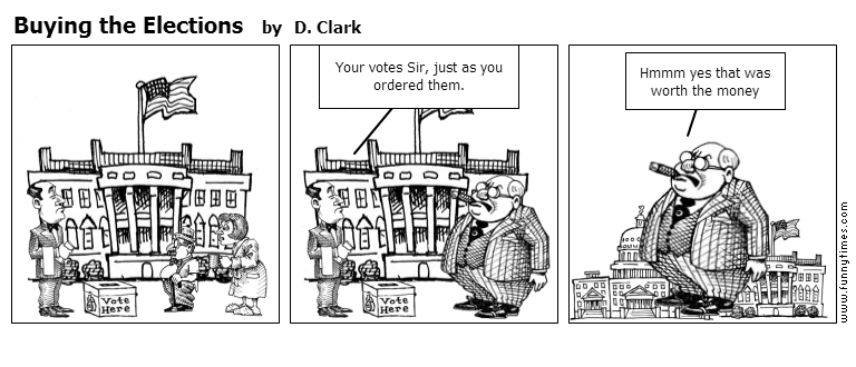 Buying the Elections by D. Clark