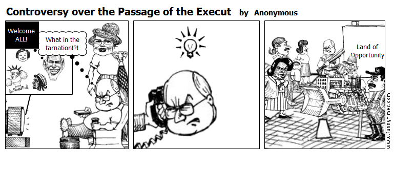 Controversy over the Passage of the Exec by Anonymous
