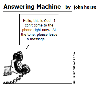 Answering Machine by john horse