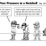 Teen Peer Pressure in a Nutshell