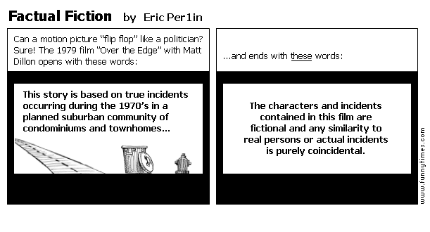 Factual Fiction by Eric Per1in