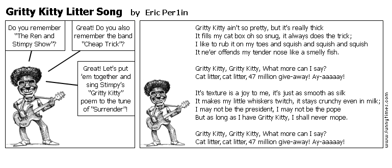 Gritty Kitty Litter Song by Eric Per1in