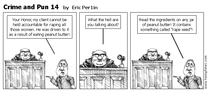 Crime and Pun 14 by Eric Per1in
