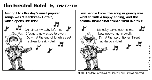 The Erected Hotel by Eric Per1in