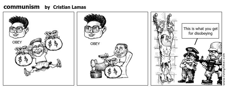communism by Cristian Lamas