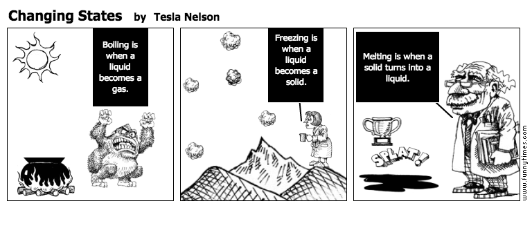 Changing States by Tesla Nelson