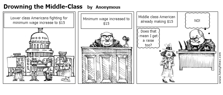 Drowning the Middle-Class by Anonymous