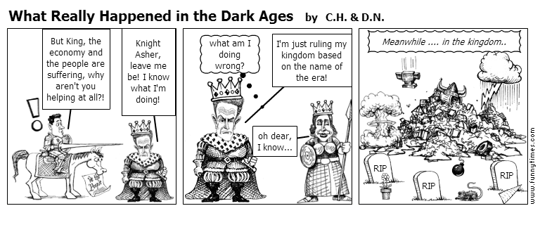 what really happened in the dark ages