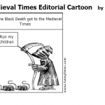 Medieval Times Editorial Cartoon