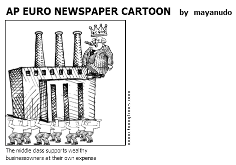 AP EURO NEWSPAPER CARTOON by mayanudo