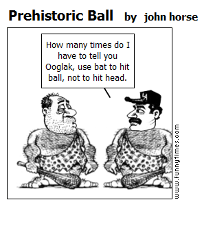 Prehistoric Ball by john horse