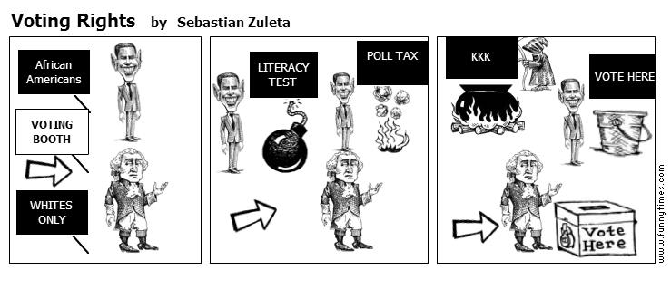 Voting Rights by Sebastian Zuleta
