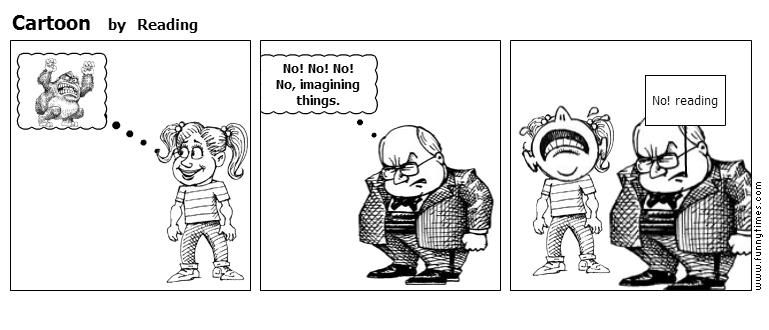 Cartoon by Reading