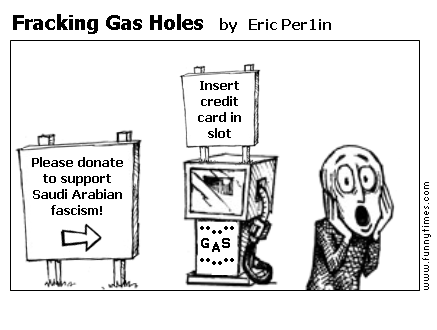 Fracking Gas Holes by Eric Per1in