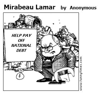Mirabeau Lamar by Anonymous