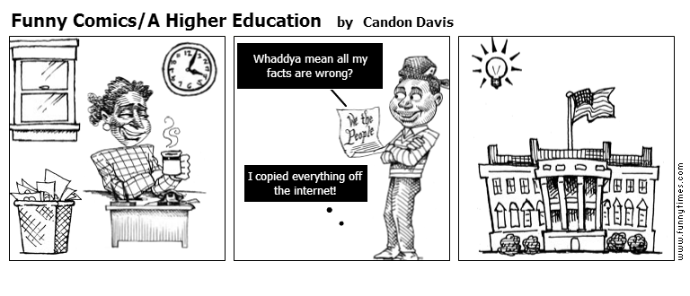 Funny ComicsA Higher Education by Candon Davis