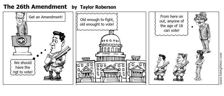 The 26th Amendment by Taylor Roberson