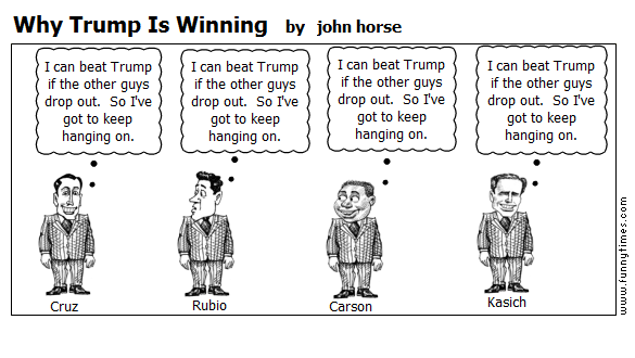 Why Trump Is Winning by john horse