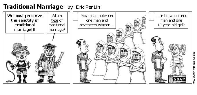 Traditional Marriage by Eric Per1in