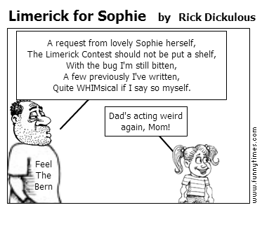 Limerick for Sophie by Rick Dickulous