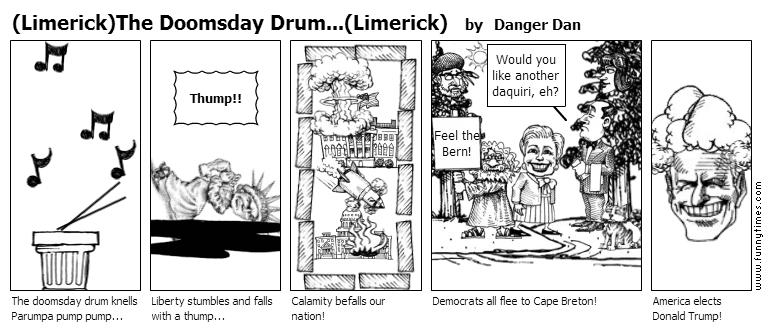 LimerickThe Doomsday Drum...Limerick by Danger Dan