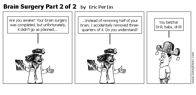 Brain Surgery Part 2 of 2 by Eric Per1in