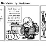 Weath Gap Between Genders