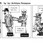 ww1 political cartoon