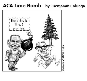 ACA time Bomb by Benjamin Colunga