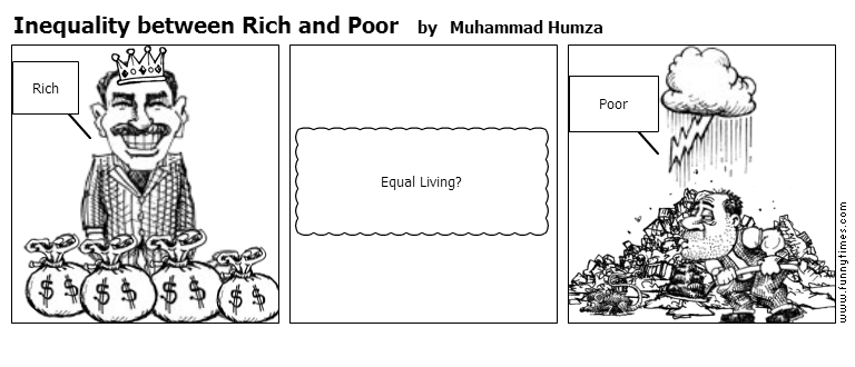 Inequality between Rich and Poor by Muhammad Humza