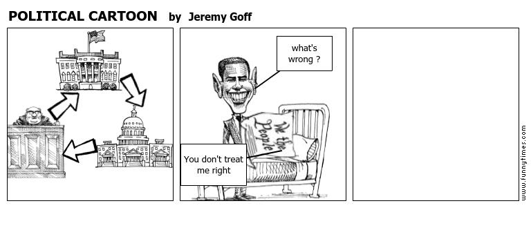 POLITICAL CARTOON by Jeremy Goff