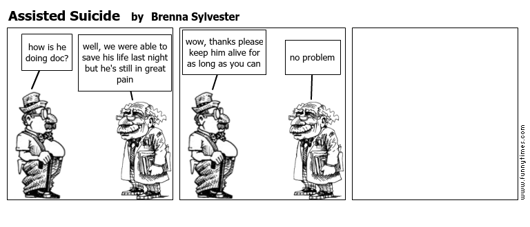 Assisted Suicide by Brenna Sylvester