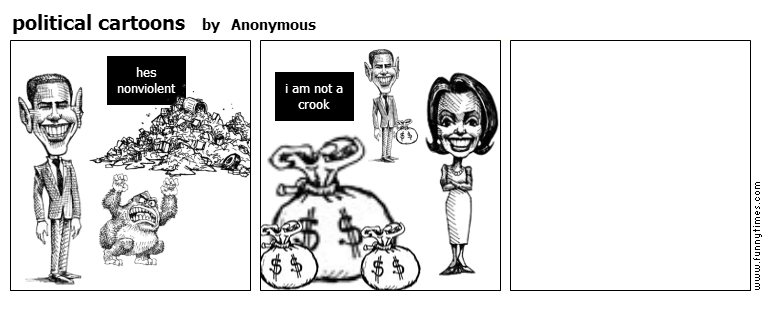 political cartoons by Anonymous
