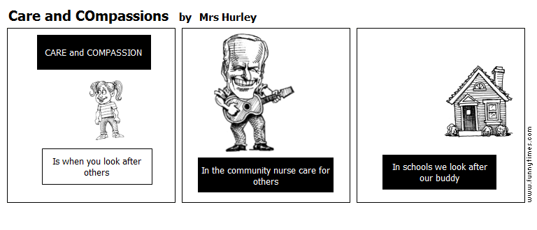Care and COmpassions by Mrs Hurley
