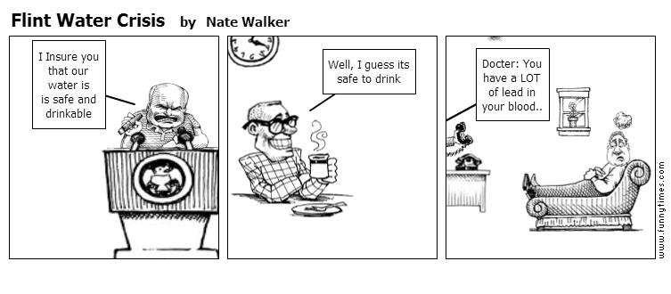 Flint Water Crisis by Nate Walker