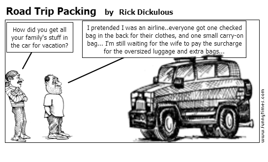 Road Trip Packing by Rick Dickulous
