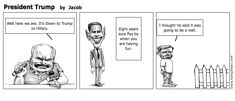 President Trump by Jacob