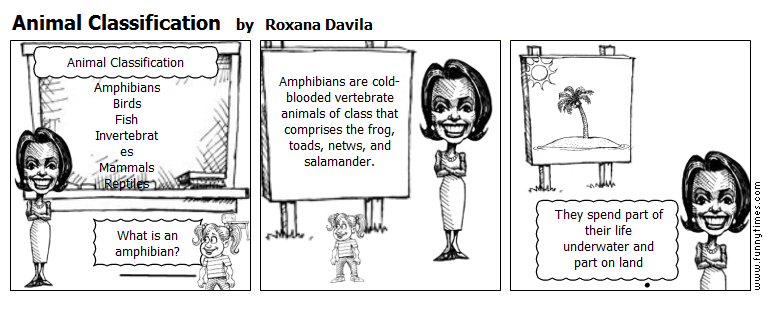 Animal Classification by Roxana Davila