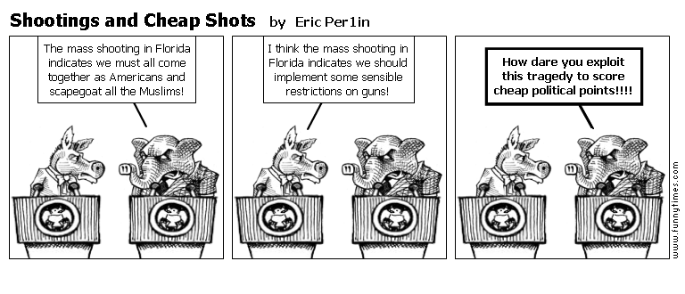 Shootings and Cheap Shots by Eric Per1in