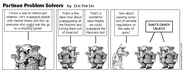 Partisan Problem Solvers by Eric Per1in