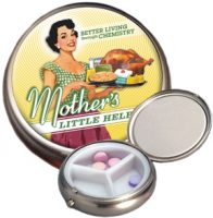 Mother's Helper Pill Box