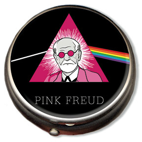 Pink Freud Pill Box