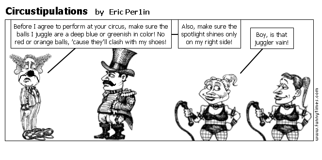 Circustipulations by Eric Per1in