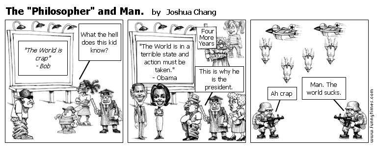 """The """"Philosopher"""" and Man. by Joshua Chang"""