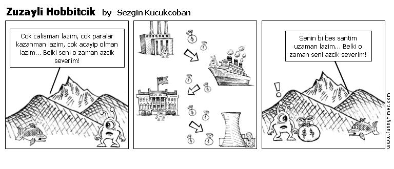 Zuzayli Hobbitcik by Sezgin Kucukcoban