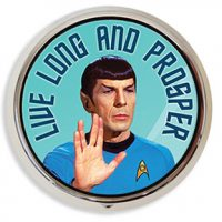 Live Long and Prosper Pill Box