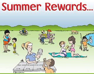 Summer Rewards PopUp