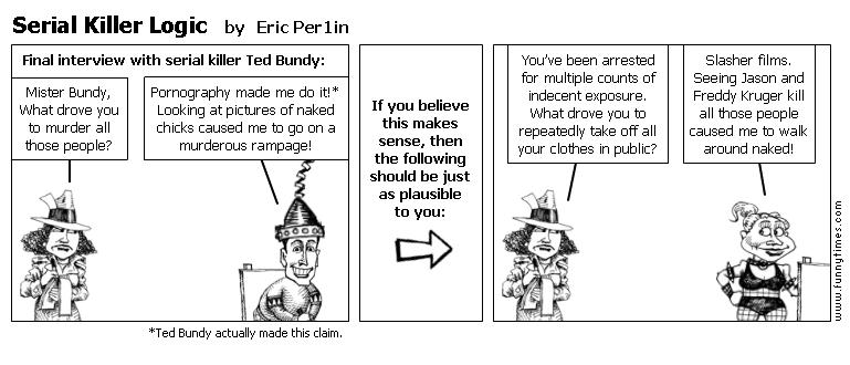 Serial Killer Logic by Eric Per1in