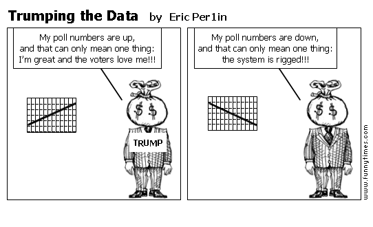 Trumping the Data by Eric Per1in