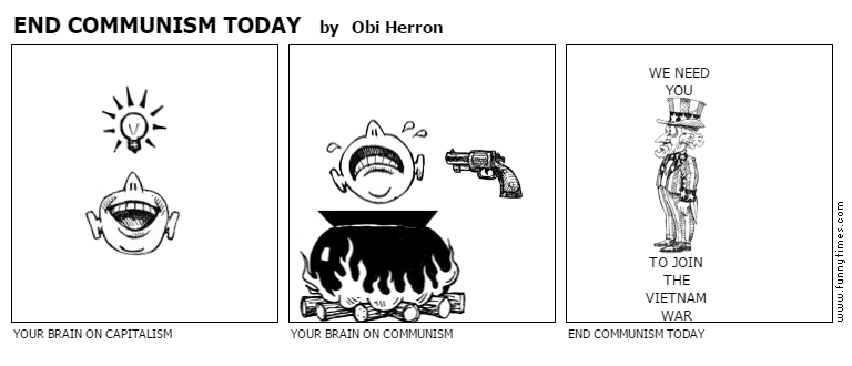 END COMMUNISM TODAY by Obi Herron